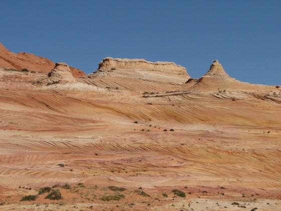 Auf dem Weg zur Wave, Coyote Buttes North