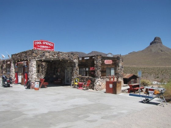 Route66 Tankstelle