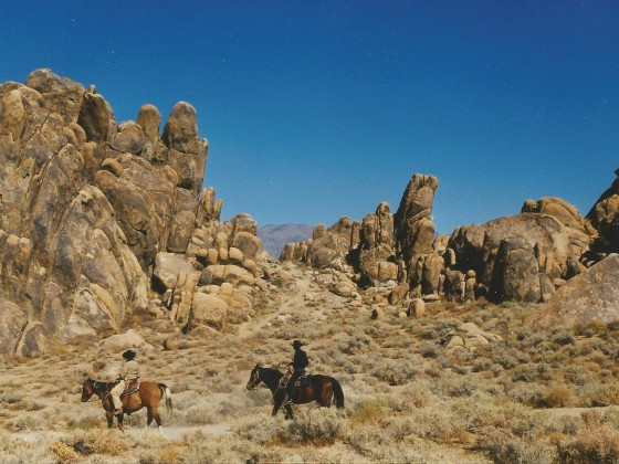 Western in den Alabama Hills