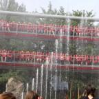 Doppelter Top Spin Wasserspaß