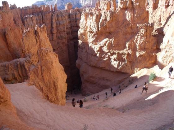 Einstieg in den Bryce Canyon