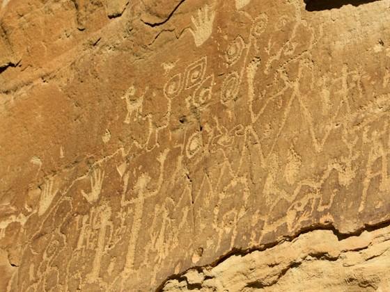 Petroglyphen im Mesa Verde NP