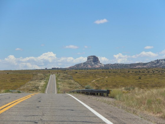 On the way to Monument Valley!