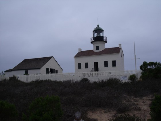 Leuchtturm am Point Loma