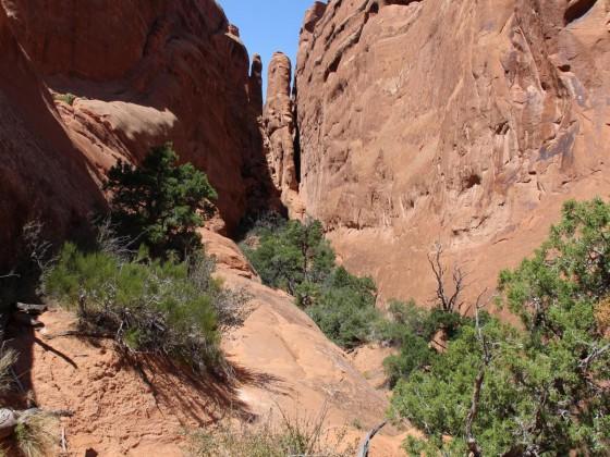 Primitive Trail - Caution Difficult Hiking