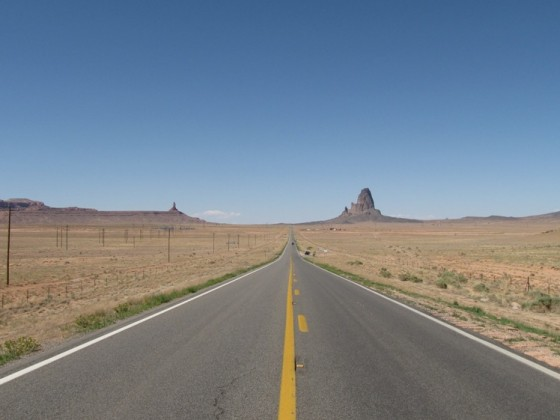 Unterwegs Richtung Monument Valley