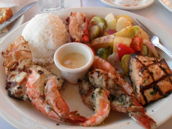 seafood plate - wer's mag