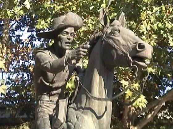 Denkmal Pony Express Sacramento